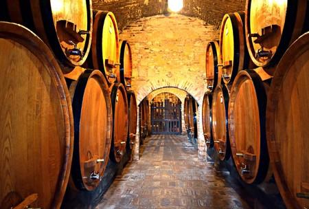 Winery in Tuscany, Italy