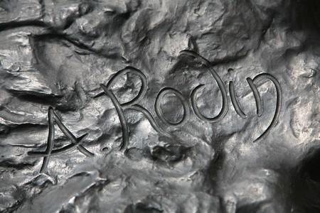 Auguste Rodin's signature | Photo by Daniel Schwen/WikiCommons