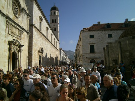 A busy day in Dubrovnik