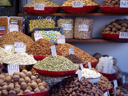 Dry fruits shop in Chandni Chowk
