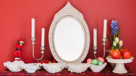 'Haft Sin' table setting for Nowruz