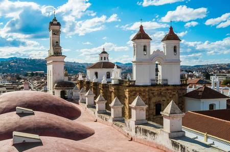 Convent of San Felipe Neri from La Merced Church in Sucre, Bolivia