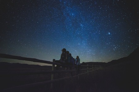 Star gazing in Tenerife