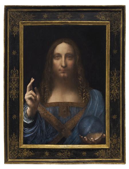 Leonardo da Vinci, Salvator Mundi, ca. 1500   © Christie's Images Ltd. 2017