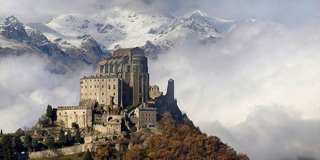 Sacra di San Michele in autumn