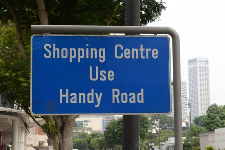 Shopping Centre Road Sign | © Clint Budd/Flickr