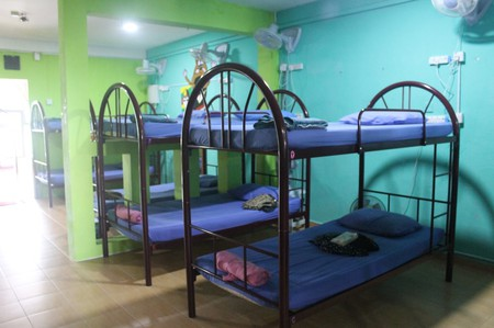 Dormitories in Sweet Monkey Backpacker Hostel