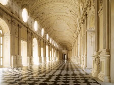The Hall of Diana at La Venaria Reale, Piedmont   Courtesy La Venaria Reale