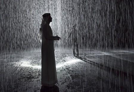 Random International, 'Rain Room', 2012 now exhibited at Sharjah Art Foundation, 2018