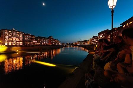 Lights in Pisa