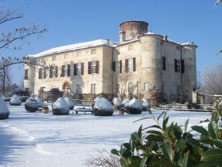 Castello di Rocca Grimalda in Winter, Monferrato   Courtesy Castello di Rocca Grimalda