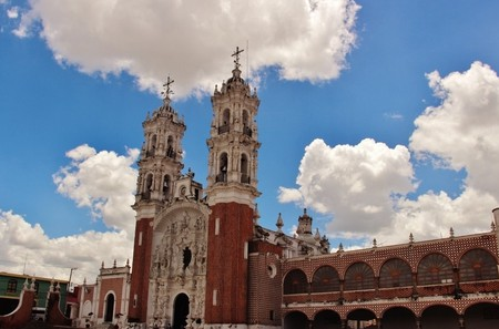 Basílica de Nuestra Señora de Ocotlán (Ocotlán) Estado de Tlaxcala,México