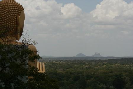 Buddha overlooking Sigiriya