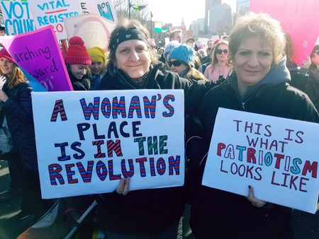 Signs at the Women's March in Philadelphia   © Rob Kall / flickr