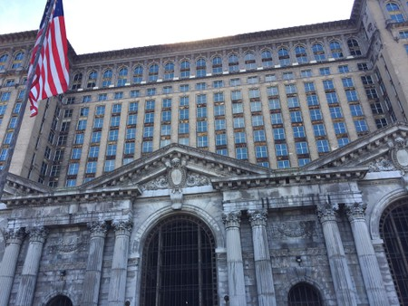 Michigan Central Station, once a symbol of urban decay, has been restored   © Todd Van Hoosear/Flickr