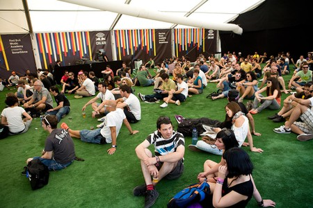 Sónar chill-out area