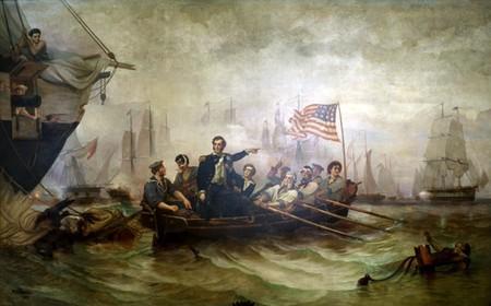 Battle of Lake Erie   © William Henry Powell/WikiCommons
