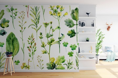 For A Gender Neutral Playroom Or Baby Room, Consider This Floral Pattern.  Itu0027s Reminiscent Of A Hand Drawn Storybook Illustration And The Garden  Motif Feels ...