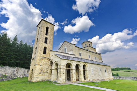 Sopocani Monastery is very close to Stari Ras