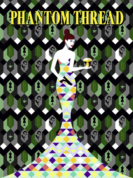 Phantom Thread - inspired by Malika Favre, designed by Florence Lau:Shutterstock