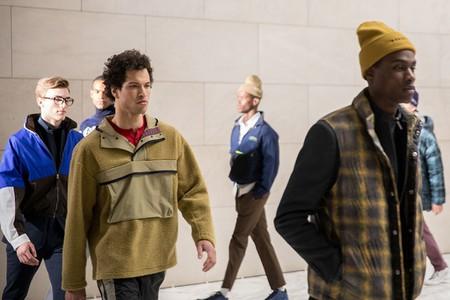 Perry Ellis show, Fall Winter 2018, New York Fashion Week Men's, USA - 06 Feb 2018