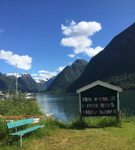 The Norwegian Book Town in Fjærland | Courtesy of Den norske bokbyen