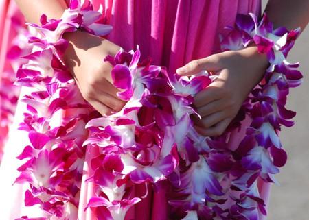 A hula welcome