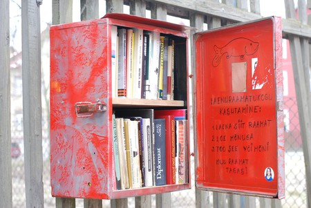 Book-Swap Locker in Kalamaja