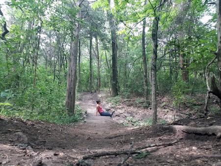 Oak Cliff Nature Preserve offers hiking and biking trails in Dallas' Oak Cliff neighborhood