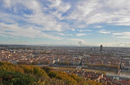 Visit the Basilica or Curiosities Park for an incredible view of Lyon