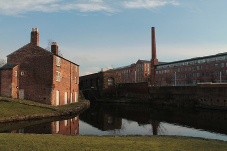 View of the Canal in Ancoats