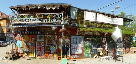 A Quirky Metelkova Building
