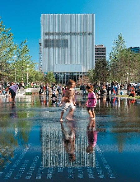 Wyly Theatre is one of many aspects of the Dallas Arts District