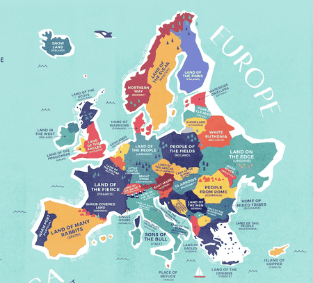 This Enlightening Map Shows the Literal Meaning of Every ... on funny canada map, funny ireland map, funny italy map, funny north america map, funny asia map, funny puerto rico map, funny american map, funny england map,