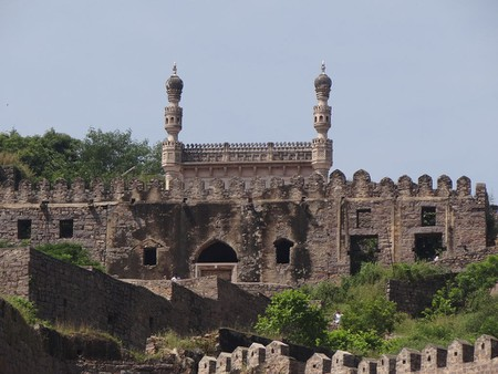 Golkonda Fort Sripathiharsha WikiCommons