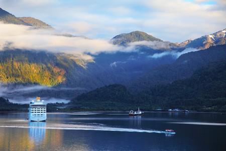 Sunrise in the Chilean fjord, South America | © kavram/Shutterstock