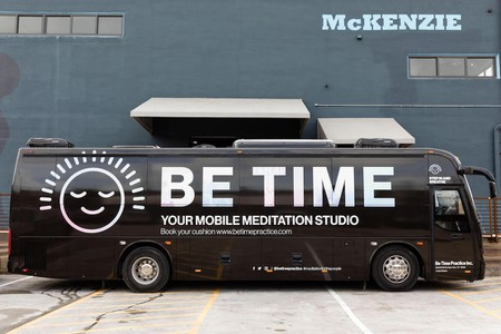 Board NYC's Meditation Bus For a Quick Zen Break