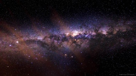 The Milky Way from the south Western Cape