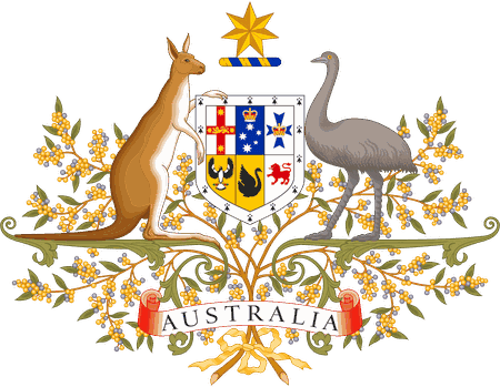 Australian Coat of Arms © Sodacan / Wikimedia Commons