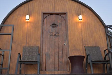 The barrel's front door