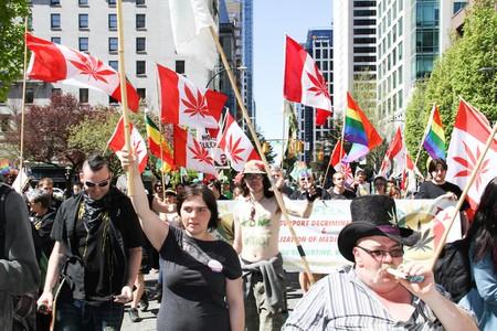 Marijuana March in Vancouver