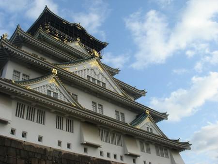 Famous Osaka Castle, just a ten-minute walk from Morinomiya Station.