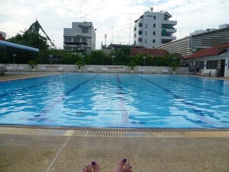 Singburi's swimming pool