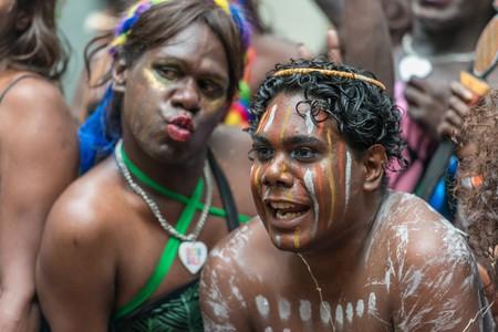 The Tiwi Islands Sistagirls on Mardi Gras