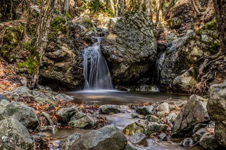 Caledonia waterfall, Cyprus