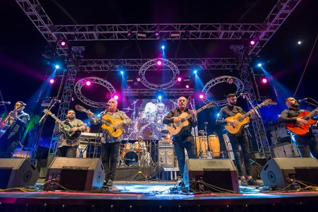 Gipsy Kings at the Festival Pirineos Sur, Spain