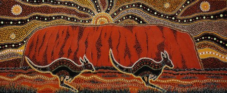 Traditional Aboriginal art by Danny Eastwood