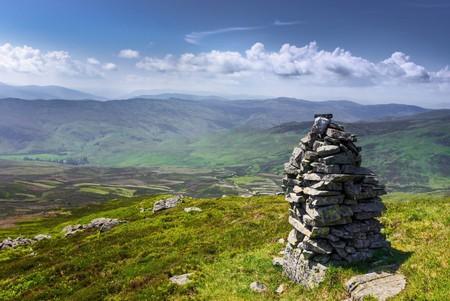 Summit Cairn, Creag Garbh, Scotland