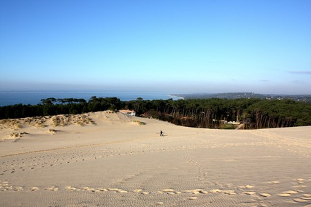 Arcachon Bay with the incredible Dune du Pilat