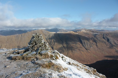 Gleouraich Summit Cairn, Scotland